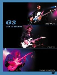 Cover Joe Satriani / Steve Vai / Yngwie Malmsteen - G3 - Live In Denver [DVD]